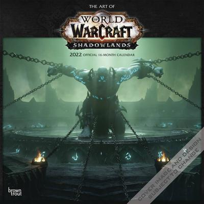 ART OF WORLD OF WARCRAFT 2022 WALL CALENDAR