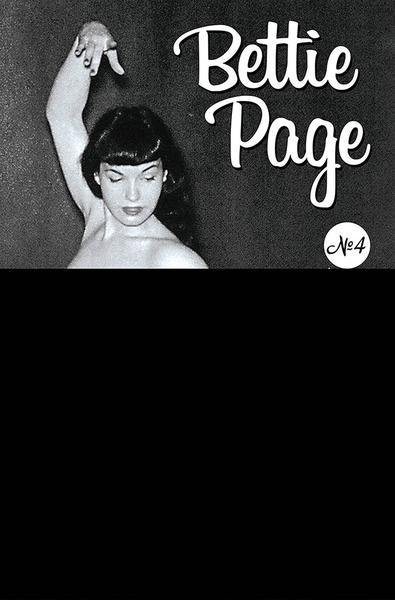 BETTIE PAGE & CURSE OF THE BANSHEE CVR P BLACK BAG PHOTO
