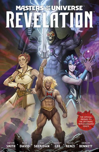 MASTERS OF THE UNIVERSE REVELATION TP 01