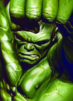 HULK #5 BY ALEX ROSS POSTER
