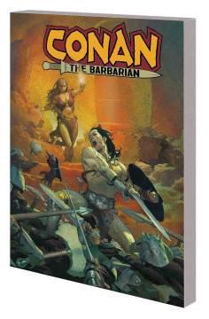 CONAN THE BARBARIAN TP 01 LIFE AND DEATH OF CONAN BOOK O