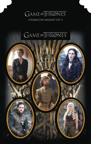 GAME OF THRONES MAGNET SET CHARACTERS 3