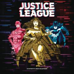 JUSTICE LEAGUE CLASSIC 2021 WALL CALENDAR
