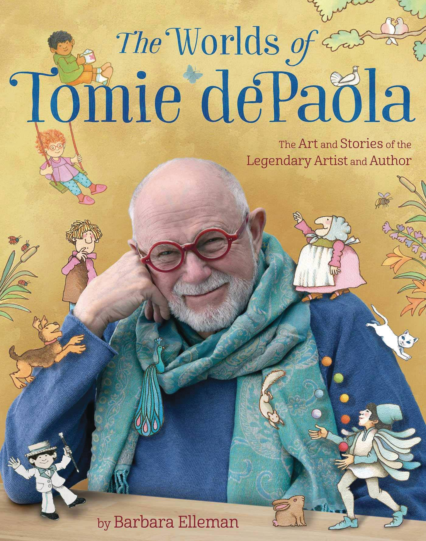 WORLDS OF TOMIE DEPAOLA ART & STORIES HC