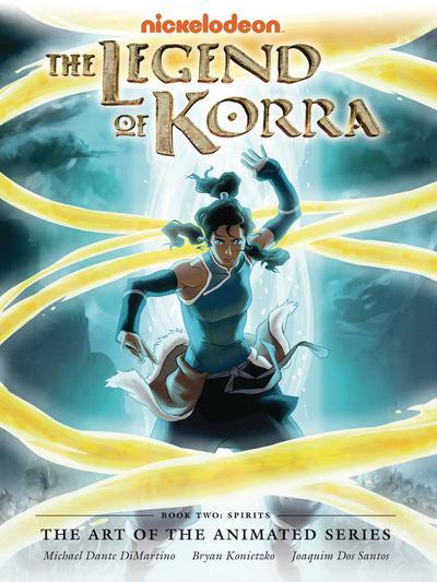 LEGEND KORRA ART ANIMATED DLX ED HC BOOK 02 SPIRITS 2ND ED