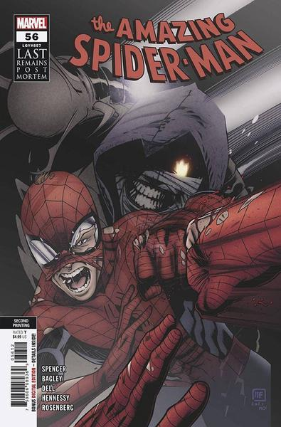 DF AMAZING SPIDERMAN #56 SPENCER SGN