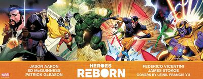 DF HEROES REBORN #1-4 MCGUINNESS SILVER SGN