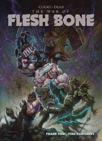 COURT OF DEAD WAR OF FLESH & BONE TP