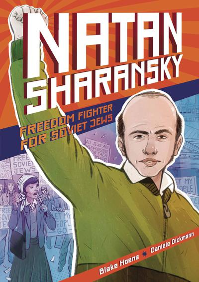 NATAN SHARANSKY FREEDOM FIGHTER FOR SOVIET JEWS TP