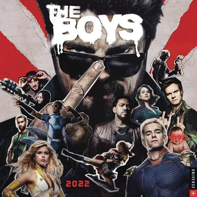 BOYS (TV) 2022 WALL CALENDAR