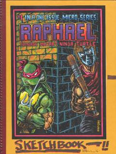 TMNT KEVIN EASTMAN NOTEBOOK SERIES HC RAPHAEL