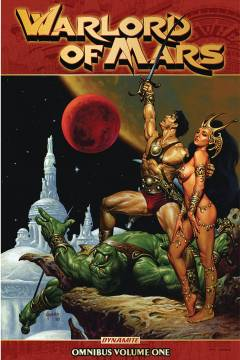 WARLORD OF MARS OMNIBUS TP 01