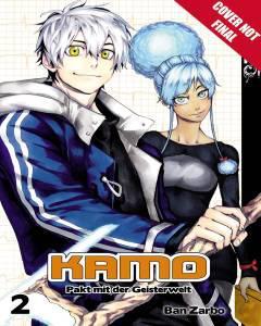 KAMO MANGA GN 02 PACT WITH SPIRIT WORLD