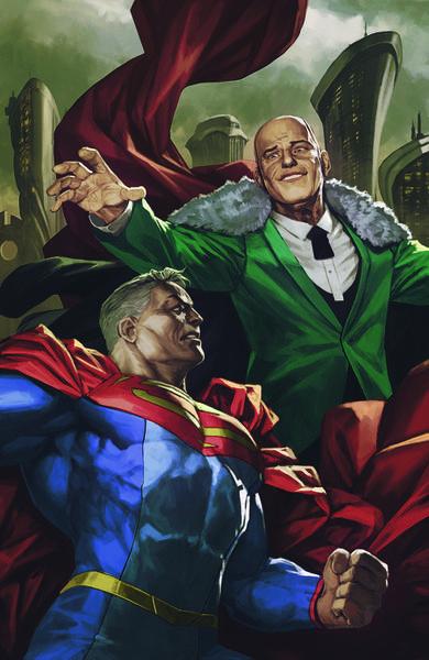 FUTURE STATE SUPERMAN VS IMPERIOUS LEX