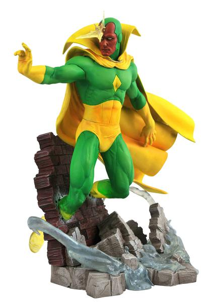 MARVEL GALLERY COMIC VISION PVC STATUE