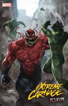 DF EXTREME CARNAGE TOXIN #1 ORLANDO SGN