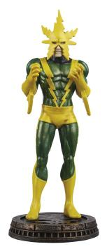 MARVEL CHESS FIG COLL MAG ELECTRO BLACK PAWN