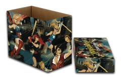 DC COMICS DC BOMBSHELLS 5 PK SHORT COMIC STORAGE BOX