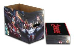 MARVEL ALL NEW AVENGERS 5PK SHORT COMIC STORAGE BOX