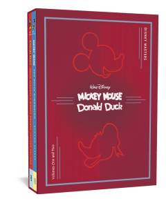 DISNEY MASTERS COLLECTORS HC BOX SET 1 & 2 SCARPA BOTTARO