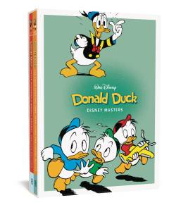 DISNEY MASTERS GIFT HC BOX SET 2 & 4 DONALD DUCK