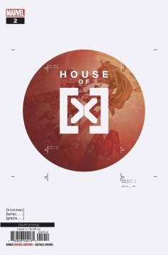 HOUSE OF X - #2 4th ptg var-c