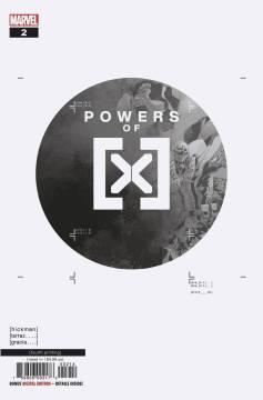 POWERS OF X - #2 4th ptg var-c