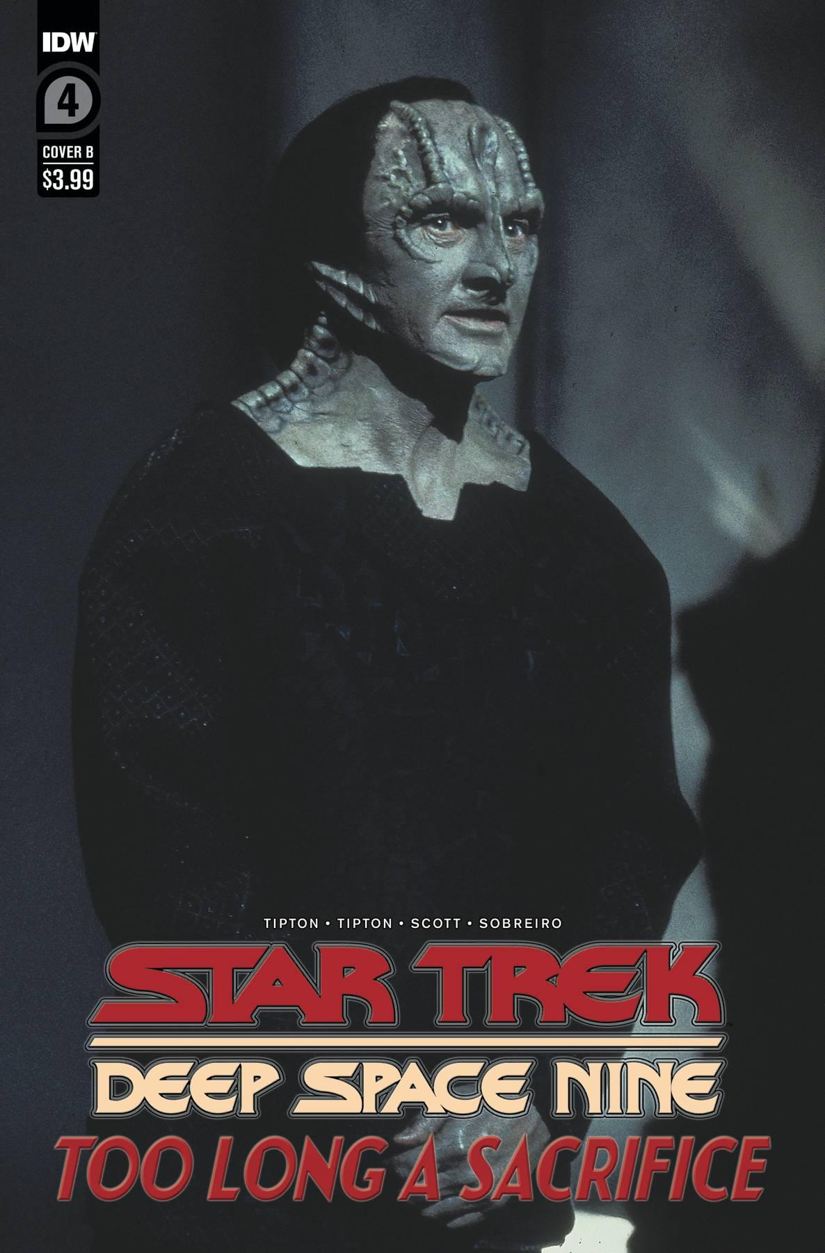 STAR TREK DS9 TOO LONG A SACRIFICE