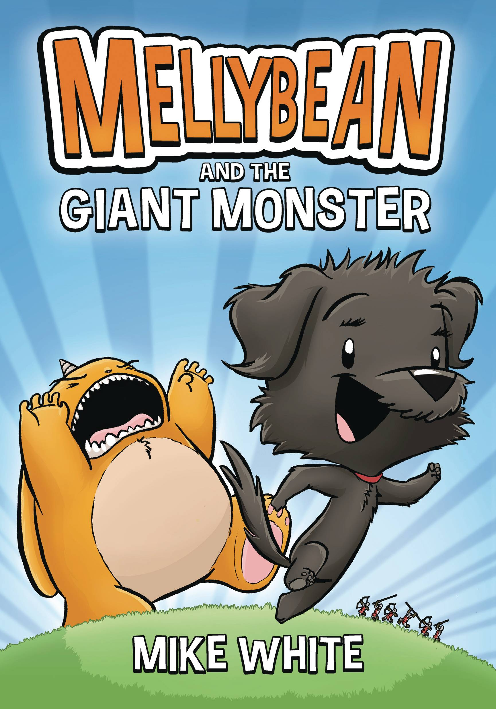 MELLYBEAN & GIANT GHOST MONSTER HC