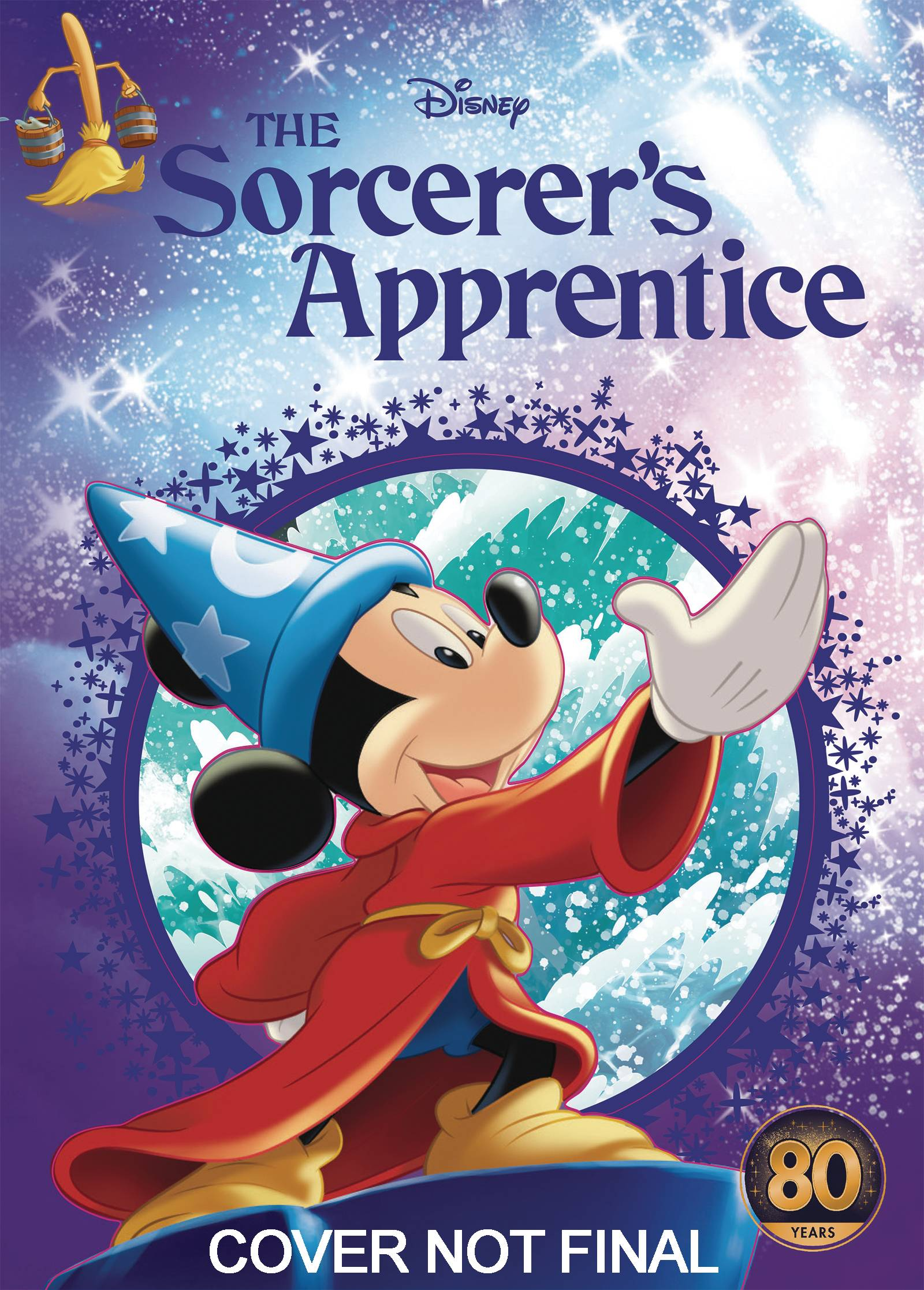 DISNEY MICKEY MOUSE SORCERERS APPRENTICE STORYBOOK HC