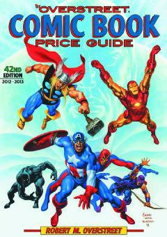 OVERSTREET COMIC BOOK PRICE GUIDE HC 42 AVENGERS