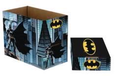 DC COMICS BATMAN SHORT COMIC STORAGE BOX