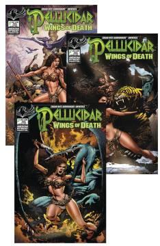 PELLUCIDAR WINGS OF DEATH READERS SET
