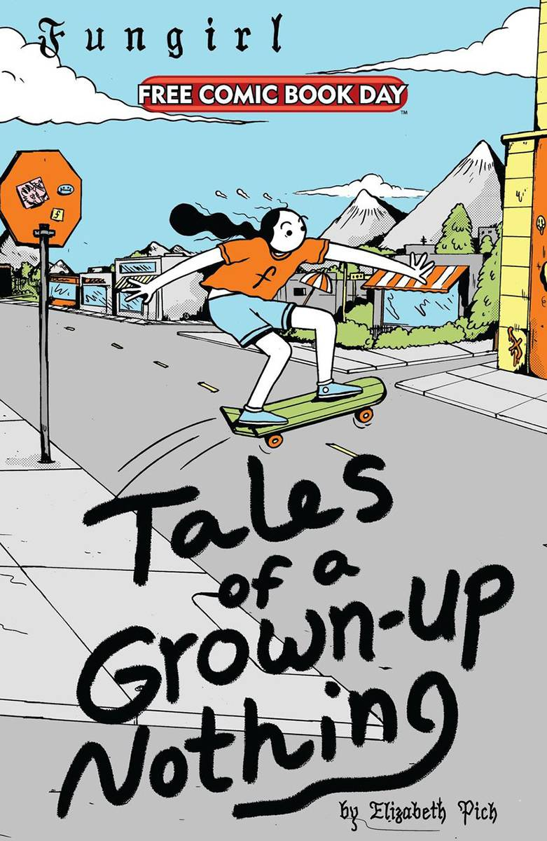 FCBD 2021 FUNGIRL TALES OF A GROWN UP NOTHING