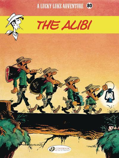 LUCKY LUKE TP 80 THE ALIBI