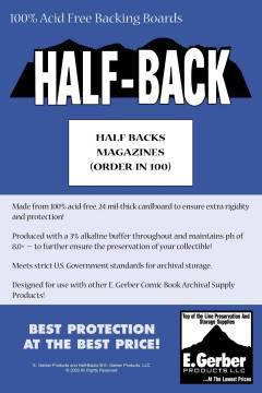 BACKING BOARDS HALF BACKS MAGAZINES