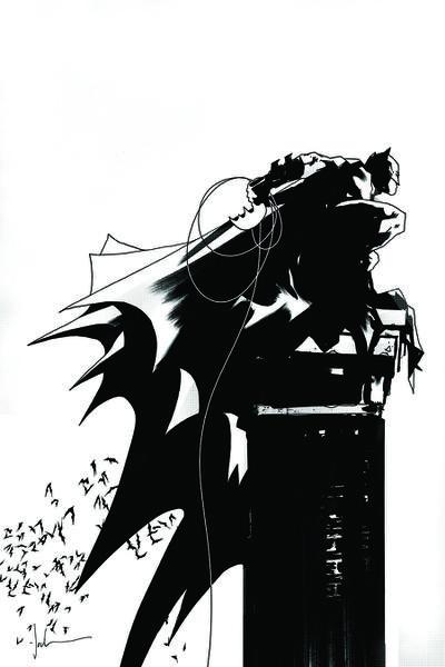 BATMAN BLACK AND WHITE