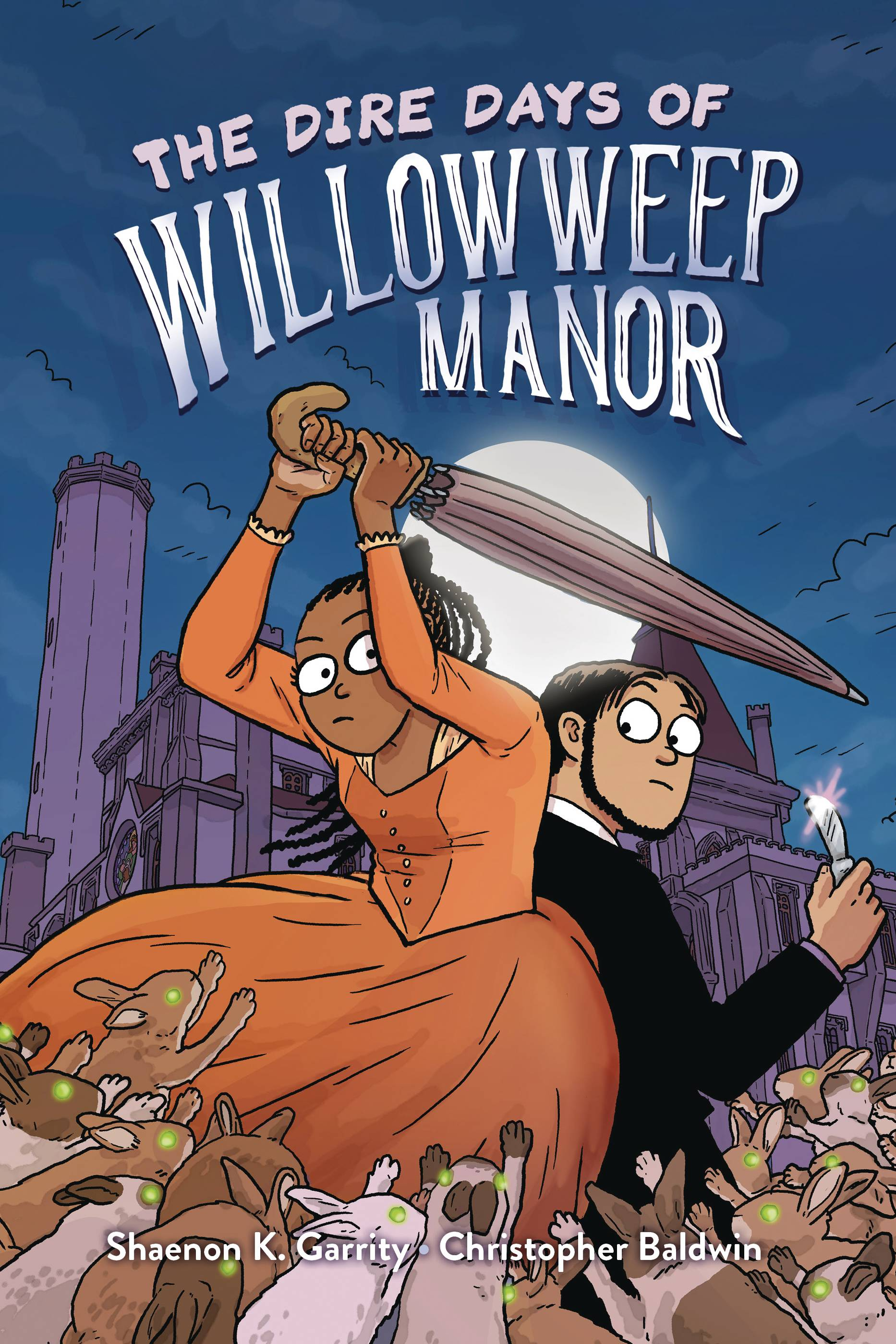 DIRE DAYS OF WILLOWWEEP MANOR TP