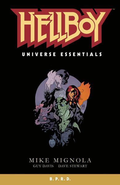 HELLBOY UNIVERSE ESSENTIALS BPRD TP 01