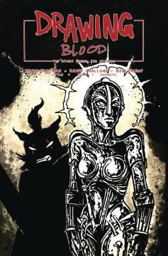 DRAWING BLOOD SPLILLED INK