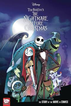 DISNEY NIGHTMARE BEFORE CHRISTMAS MOVIE IN COMICS HC