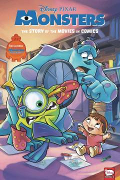DISNEY PIXAR MONSTERS INC & UNIVERSITY MOVIE IN COMICS HC