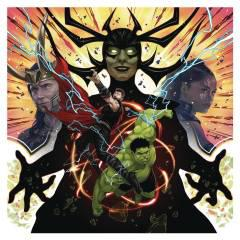 MARVELS STUDIOS THOR RAGNAROK ORIGINAL MOVIE SOUNDTRACK 2XLP