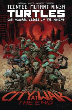 TMNT ONGOING #100 DLX HC