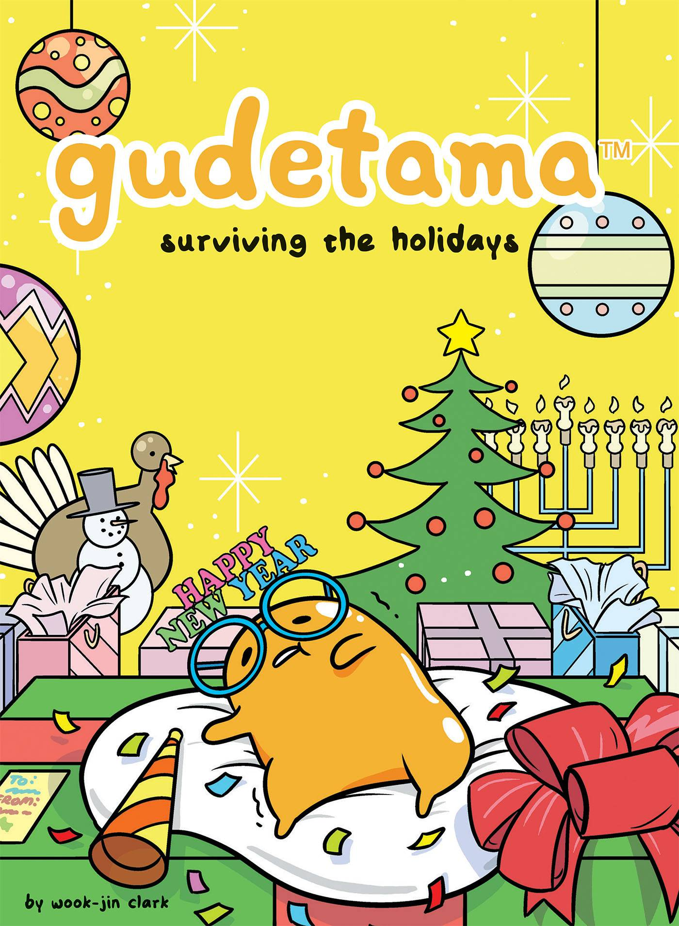 GUDETAMA SURVIVING THE HOLIDAYS HC