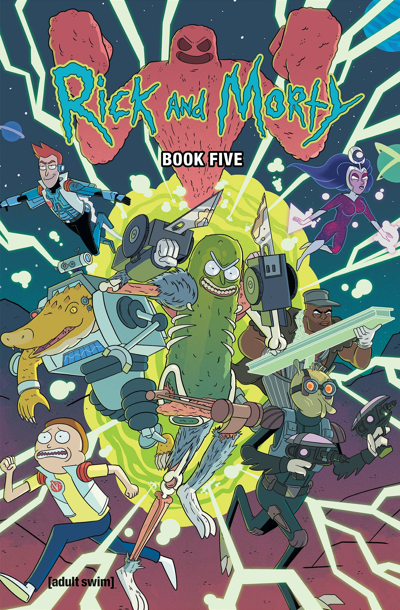 RICK AND MORTY HC 05