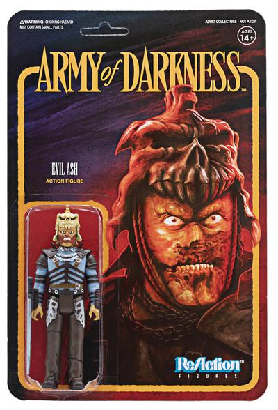 ARMY OF DARKNESS EVIL ASH REACTION FIGURE