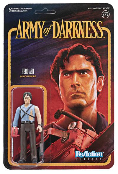 ARMY OF DARKNESS HERO ASH REACTION FIGURE