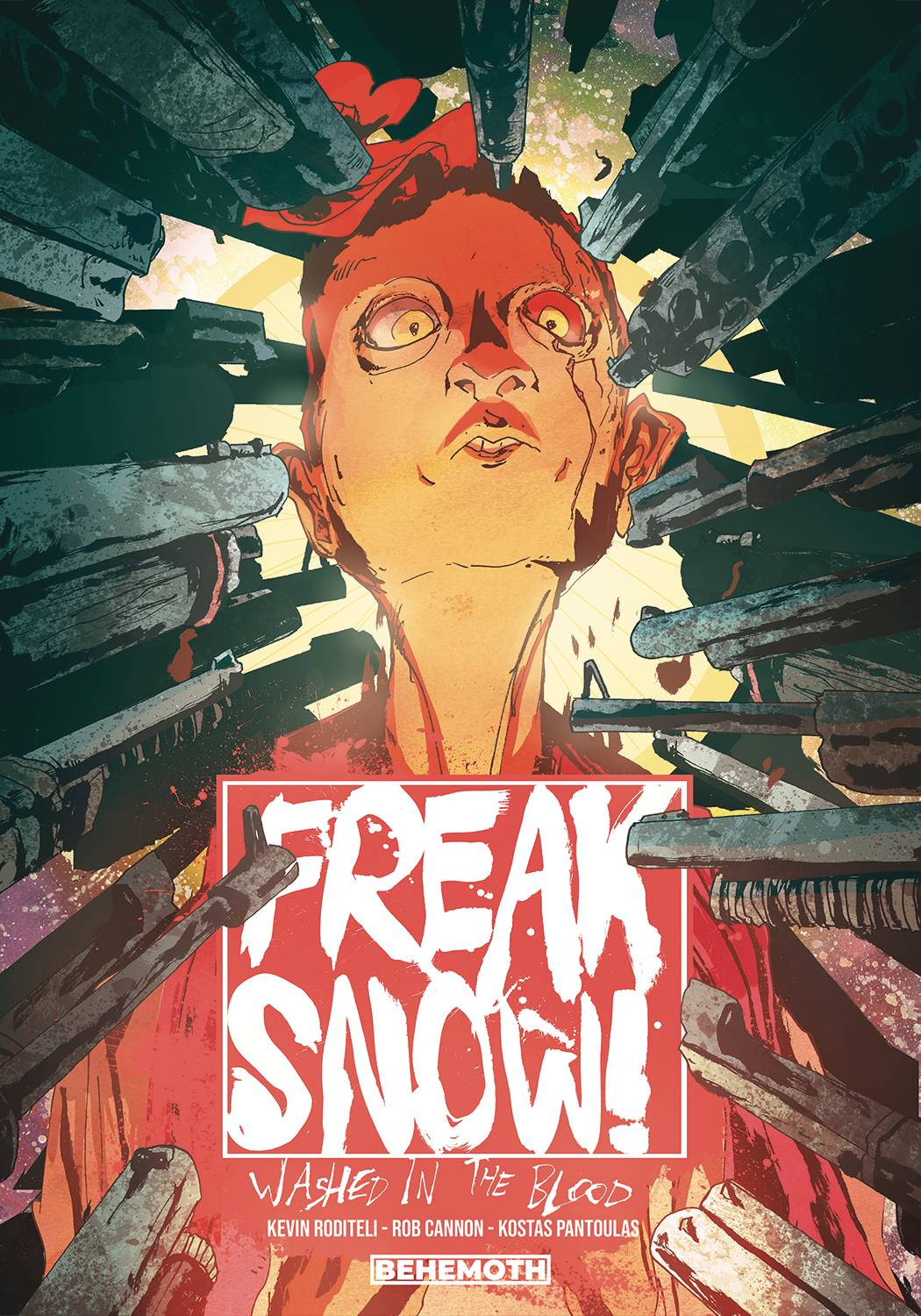 FREAKSHOW WASHED IN BLOOD TP SGN ED