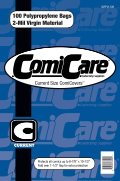 COMIC BAGS CURRENT CC Polypropylene